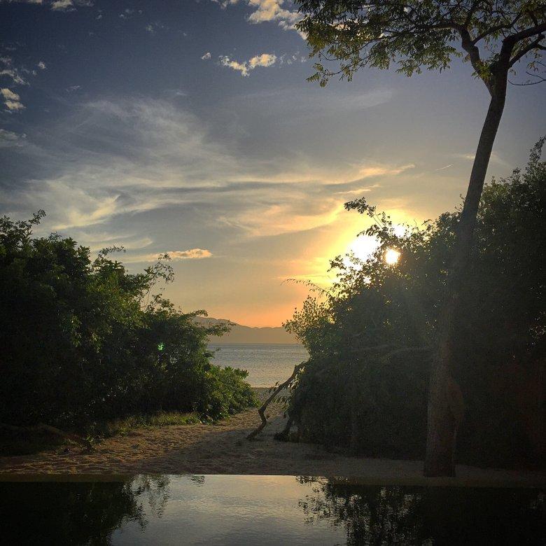 Widok z naszej willi w Six Senses Ninh Van Bay