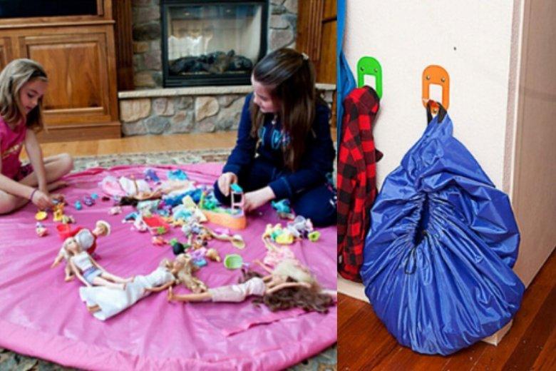 Jeśli masz dość potykania się o dziecięce zabawki, ten produkt powinien znaleźć się w twoim domu. Cena: ok.18 - 26 zł (w zależności od wielkości)