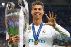 Cristiano Ronaldo czterokrotnie wygrał Ligę Mistrzów z Realem Madryt.