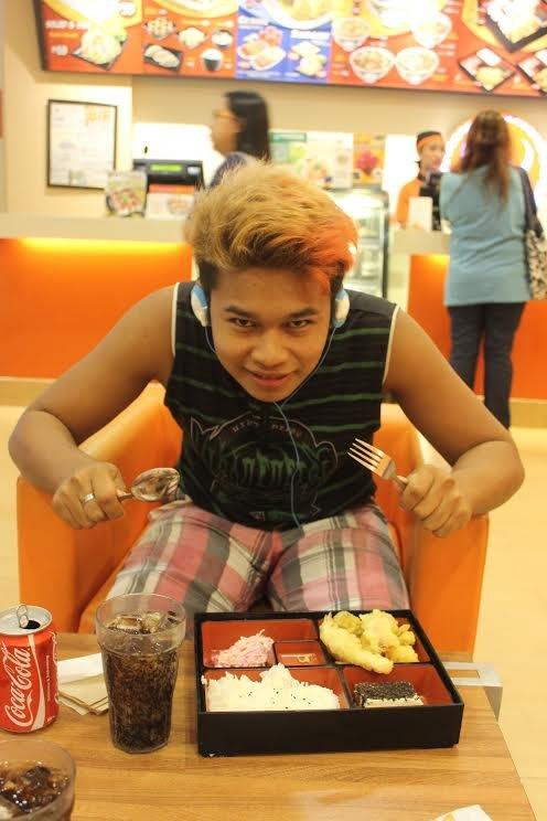 Tu z Alvinem już podczas obiadu :-)