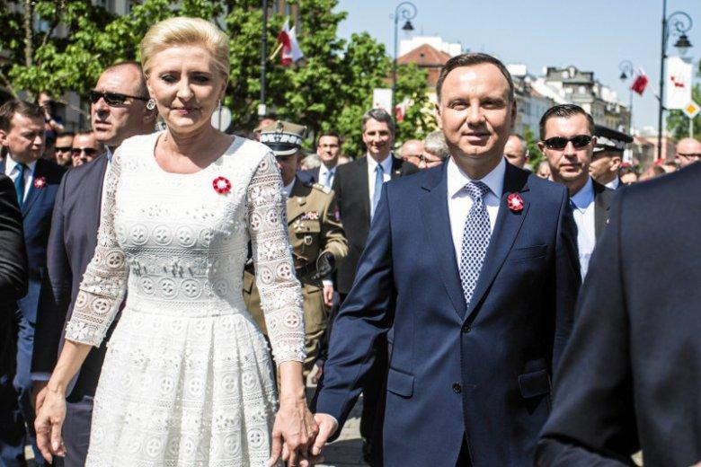 Pałac Prezydencki pochwalił się, jakie gratulacje otrzymał Andrzej Duda z okazji rocznicy uchwalenia Konstytucji 3 maja.