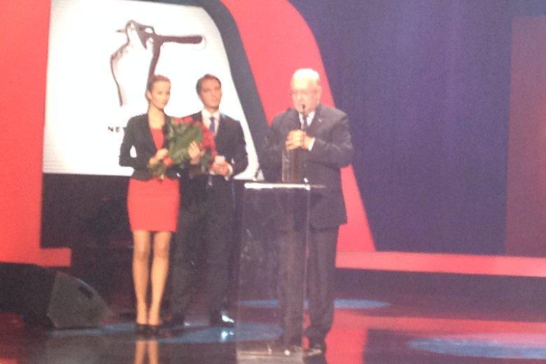 Nagroda dla prof. Stępnia za odwagę publiczną. Wręczał Tomasz Lis