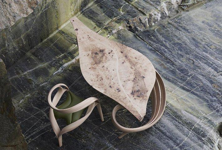Biurko z kolekcji Enignum. Zdjęcia dzięki uprzejmości studia [url=http://www.josephwalshstudio.com/] Joseph Walsh [/url]