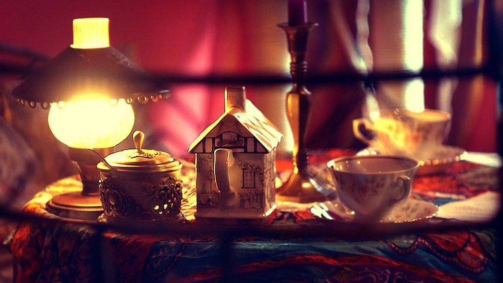Zielona herbata najlepiej smakuje w porcelanie.