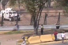 W zamieszkach w Wenezueli zostało rannych 69 osób. Prezydent Maduro podobno miał próbować uciec na Kubę.