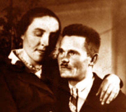 Na zdjęciu: Józef i Wiktoria Ulmowie