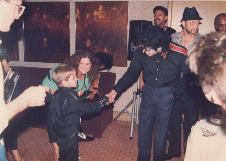 Pierwsze spotkanie Wade'a Robsona i Michaela Jacksona.