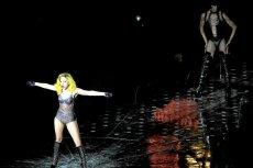 Lady Gaga podczas koncertu w Polsce