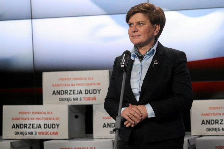 Wiceprezes PiS Beata Szydło jako szefowa sztabu Andrzeja Dudy dała się poznać jako pracowity i doskonale zorganizowany polityk.