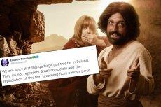 """""""Pierwsze kuszenie Chrystusa"""" to kontrowersyjna komedia, która miała premierę 3 grudnia 2019 roku"""