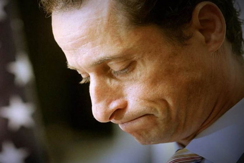 Anthony Weiner - od bohatera do zera.
