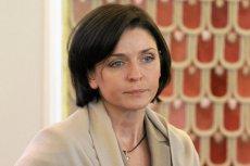 Joanna Mucha była ministrem sportu do listopada 2013 roku.