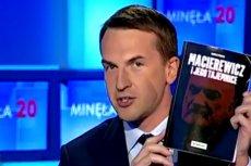 TVP nie chciało reklamy książki o Antonim Macierewiczu, to reklama przyszła do studia TVP Info.