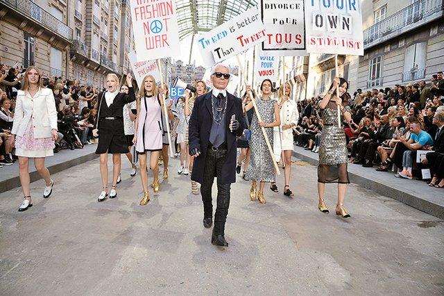 Ostatni pokaz Chanel nie obył się bez kontrowersji.