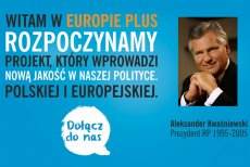 """Czy Europa Plus stanie się """"polityczną ekstraklasą""""?"""