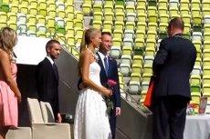 Pierwszy ślub na PGE Arenie