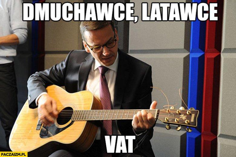 W internecie nie brakuje zabawnych memów z Morawieckim w roli głównej