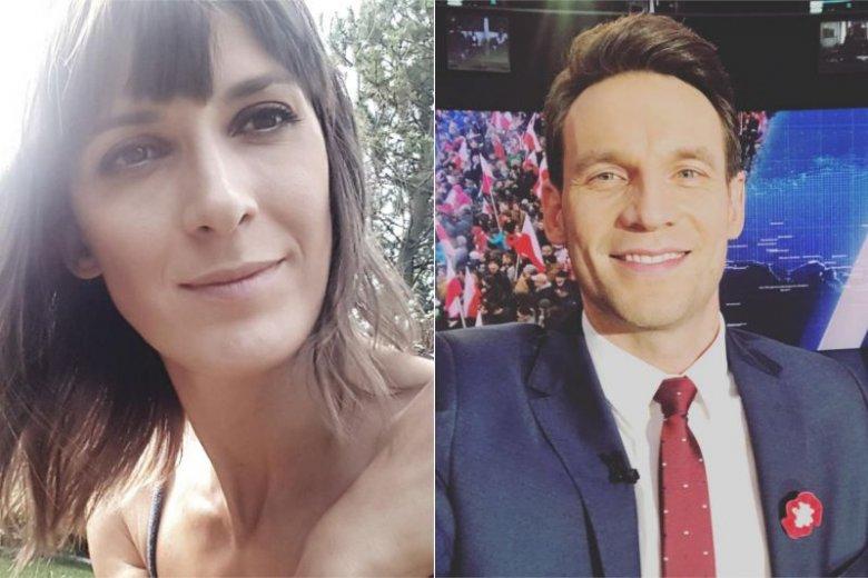 Agata i Tomasz Wolny są dziennikarzami w konkurencyjnych stacjach telewizyjnych. Czy zdarza im się kłócić o pracę?