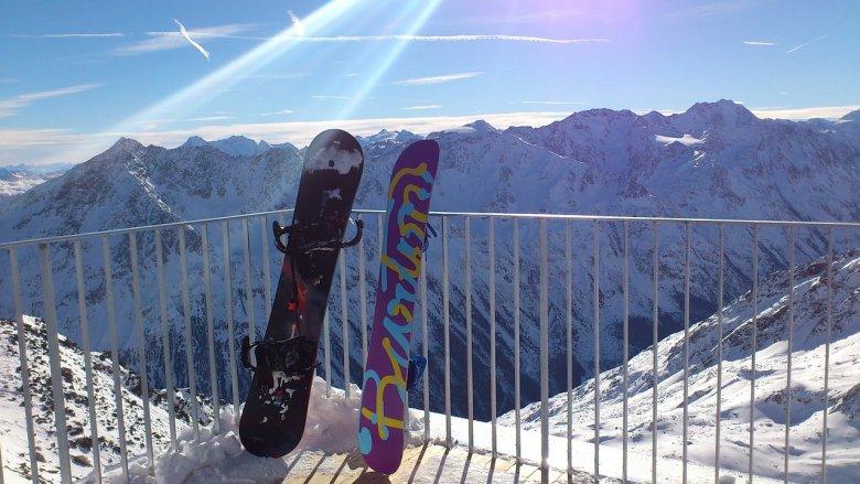 Coś dla fanów snowboardu.