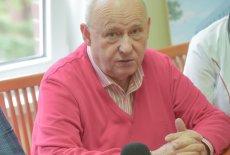 Dr Jacek Smykał, kierownik oddziału zakaźnego zielonogórskiego szpitala.