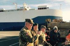 Dwa statki ze sprzętem amerykańskich pancerniaków dotarły do niemieckiego Bremerhaven. Wkrótce rozpocznie się transport do Polski.