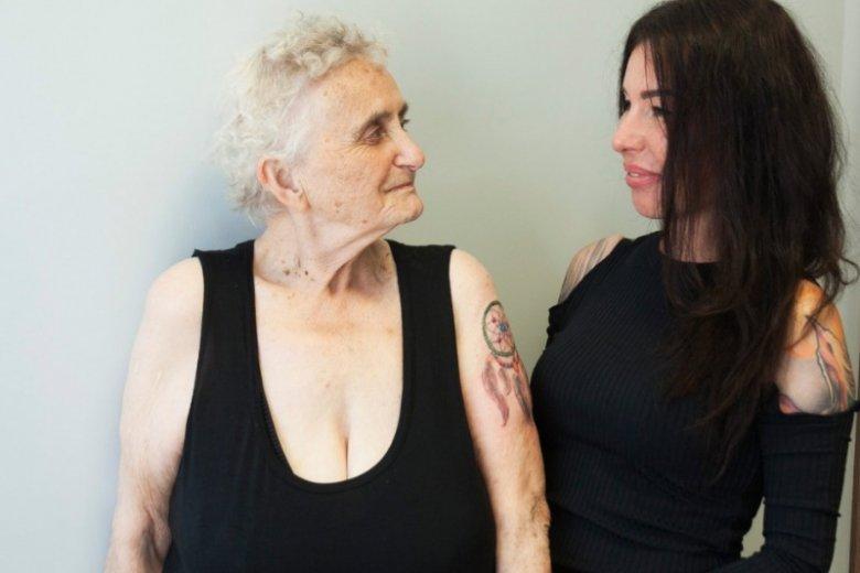 Crystal była dla Kasandry Suchackiej wyjątkową klientką. Dziewczyna pierwszy raz tatuowała kobietę po 80-tce
