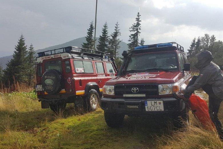 Po słowackiej stronie Tatr czworo turystów ucierpiało podczas gwałtownej burzy.