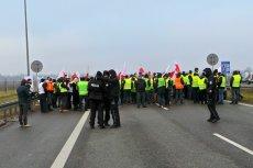 Rolnicy blokują A2 – protest Agro Unii 12 grudnia 2018.