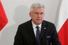 Stanisław Karczewski narzeka na ludzi marszałka Tomasza Grodzkiego.