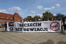 Młodzież Wszechpolska planowała dziś odkażać ulice Szczecina z ideologii LGBT.