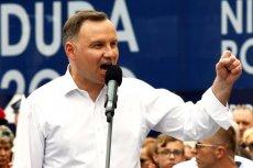 Andrzej Duda w Wieliczce mówił o mniejszościach etnicznych.