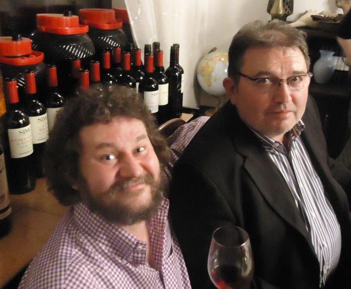 Zbyszek Kmieć i Józef Simon