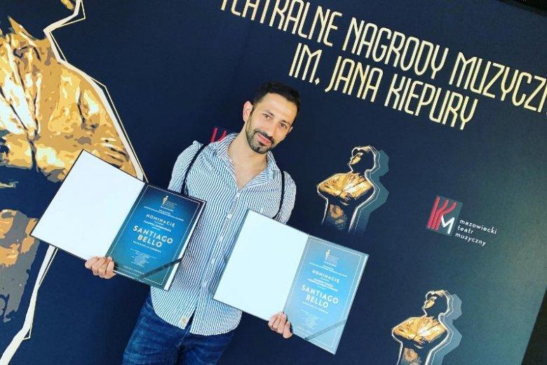 Santi w 2019 roku jest nominowany do Teatralnych Nagród Muzycznych im. Jana Kiepury