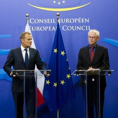 Donald Tusk i Herman van Rompuy.