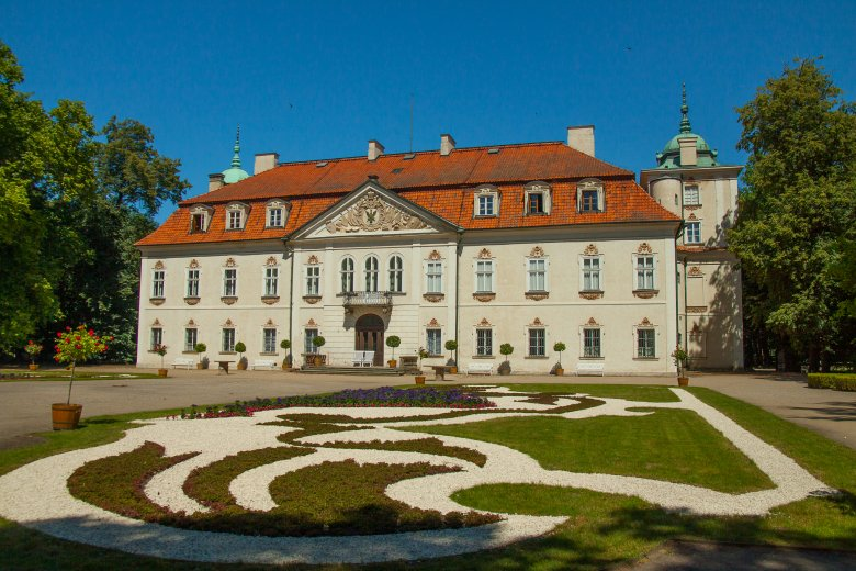 Pałac w Nieborowie.