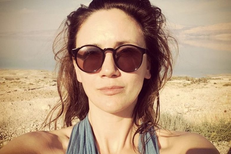 Ilona Ostrowska złożyła kobietom życzenia na Instagramie. Nago.