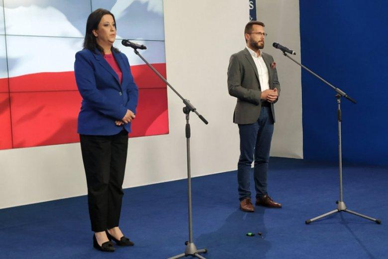 Anita Czerwińska i Radosław Fogiel przekonywali, że nie można rozdzielić funkcji ministra sprawiedliwości i prokuratora generalnego.