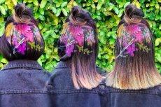 Dzięki szablonom i specjalnemu sprayowi do włosów w te wakacje można się wyróżnić z tłumu.
