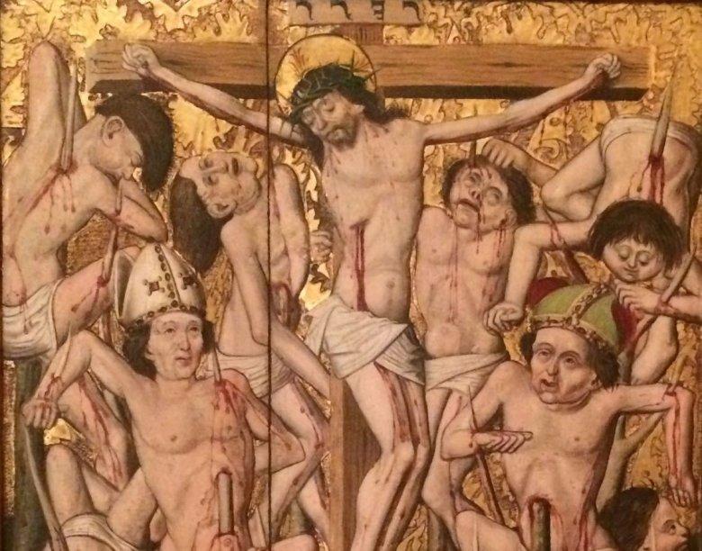 Galeria Narodowa. Ołtarz Marii Magdaleny, XV w