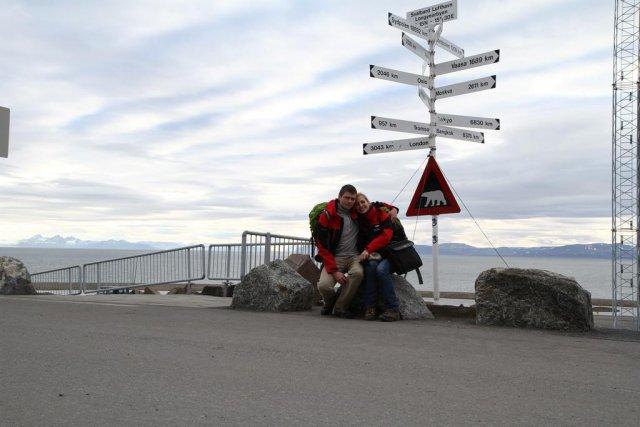 Na lotnisku w Longyearbyen