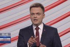 Szymon Hołownia podczas debaty prezydenckiej w TVP zapowiedział post na Facebooku, w którym pokazał sondaże wyborcze zamówione w czterech niezależnych ośrodkach.