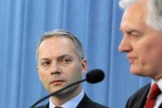 Jacek Żalek broni Johna Godsona, który zagłosowałza utrzymaniem rządu.