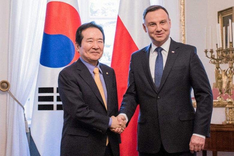 Prezydent Andrzej Duda rozważa pomysł wysłania polskich żołnierzy do pilnowania pokoju na Półwyspie Koreańskim.