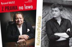 """Czy książki Ryszarda Kalisza """"Z prawa na lewo"""" albo """"Kuchnia Palikota. Sposób na sukces"""" autorstwa Janusza Palikota to dobre książkowe prezenty gwiazdkowe?"""