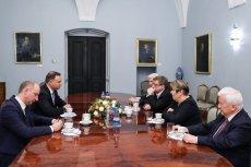 Prezydent rozmawiał z członkami KRRiT o odpowiedzialności za słowa dziennikarzy