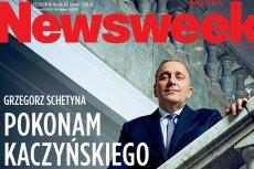 """Schetyna w wywiadzie dla """"Newsweeka"""": Pokonam Kaczyńskiego."""