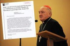 List w sprawie miesięcznic smoleńskich trafił do kardynała Kazimierza Nycza. Ciekawe, jak będzie brzmiała odpowiedź.
