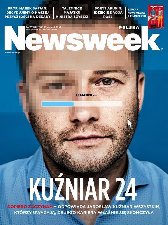 """Jan Szyszko jednym z bohaterów nowego numeru """"Newsweeka""""."""