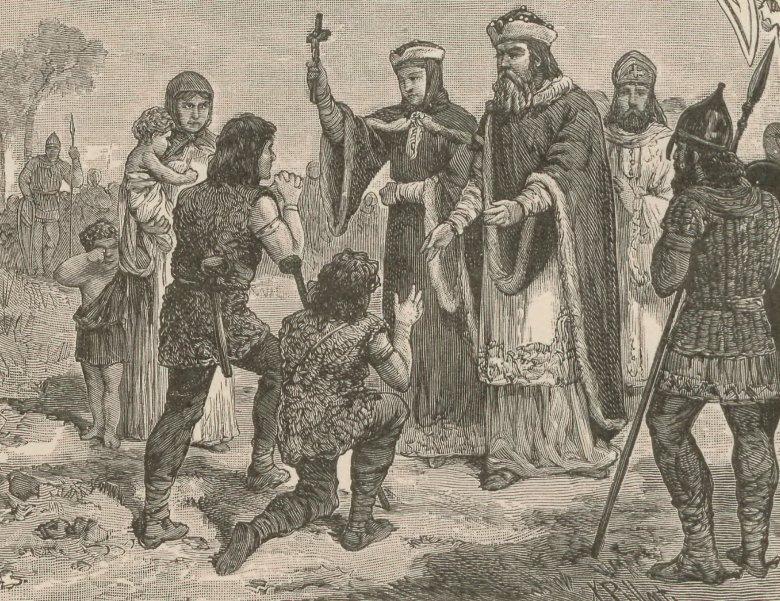 Namówienie Mieszka I do przyjęcia chrztu było sporą zasługą Dobrawy.