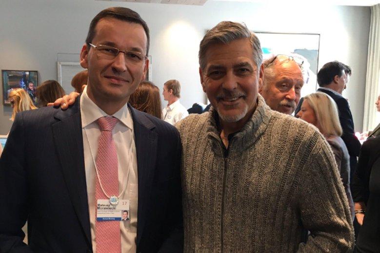 Mateusz Morawiecki w Davos, gdzie spotyka się nie tylko z politykami i przedsiębiorcami.